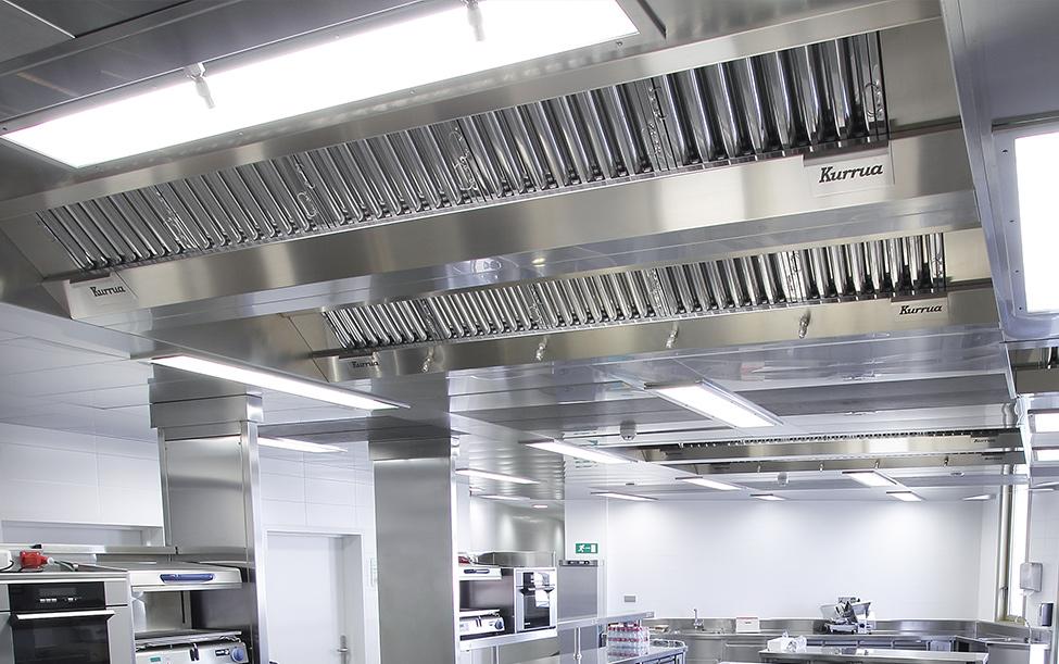 La importancia de los sistemas de extracción de humos para cocinas.