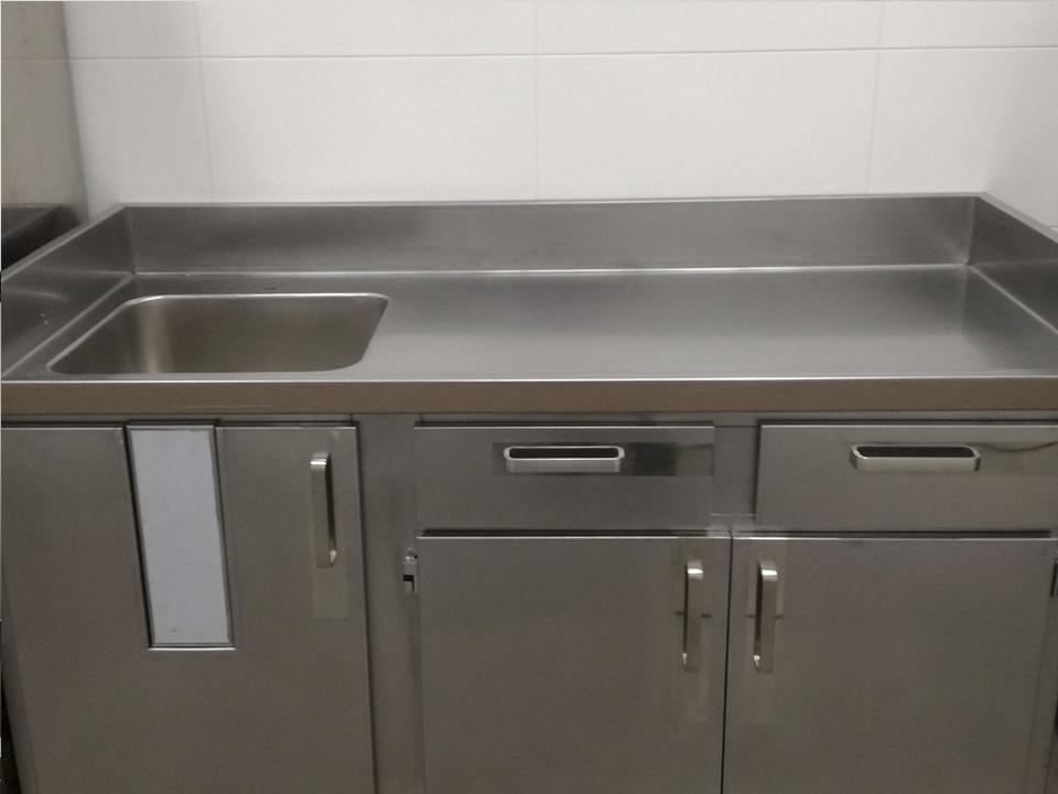 Muebles de acero inoxidable para cocina industrial - ETXE-LAN ...