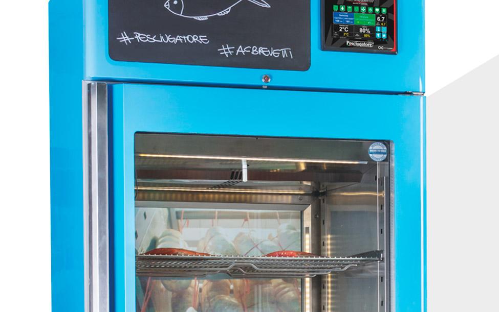 Equipos certificados para maduración de carnes y curación de pescados