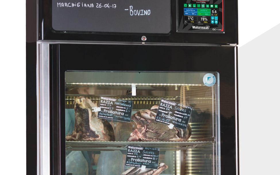 Equipos certificados para maduración de carnes y curación de embutidos